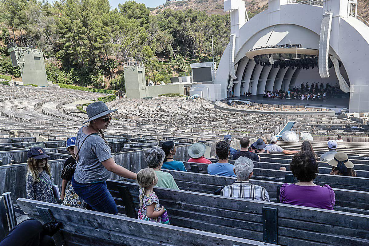 Free Hollywood Bowl rehearsals are soothing escape