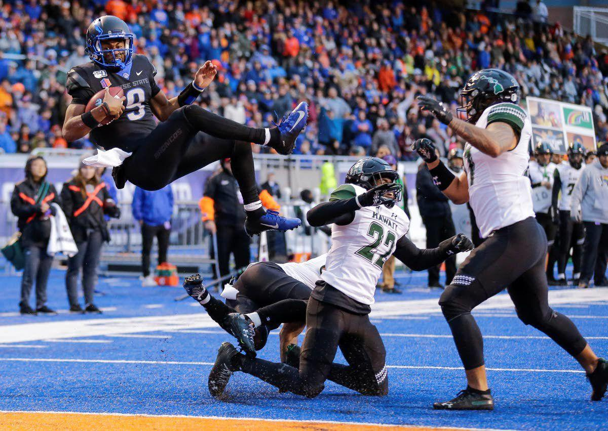 Boise State back on top of the Mountain