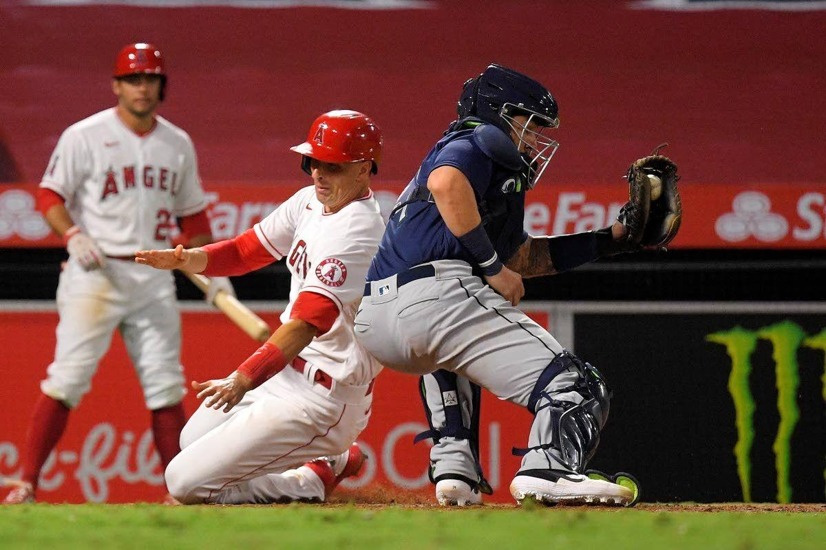 Seager, Moore propel Mariners past Angels in late going