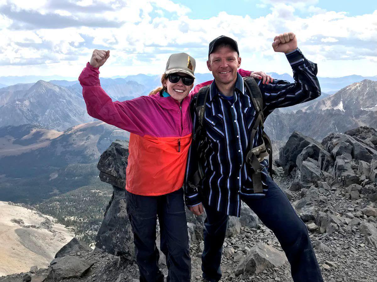 Mountain wedding a 12,662-foot high point