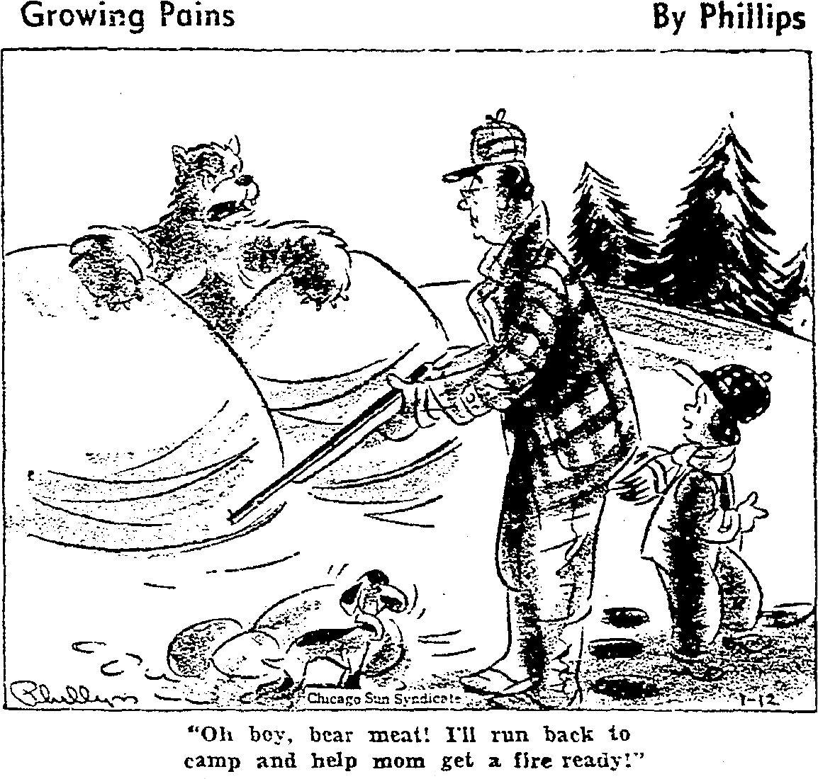 FB 01 12 1943 Growing Pains Cartoon.jpg