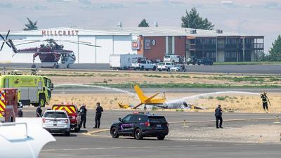Pilot dies in crash at Lewiston airport