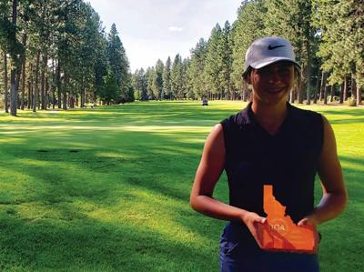 Pullman's Greeny wins Idaho district junior golf title