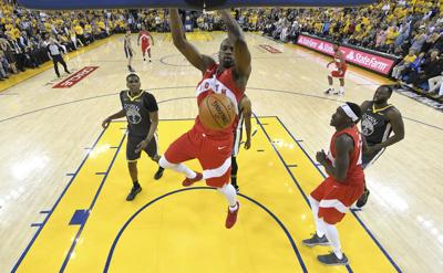 Raptors push Warriors to the brink