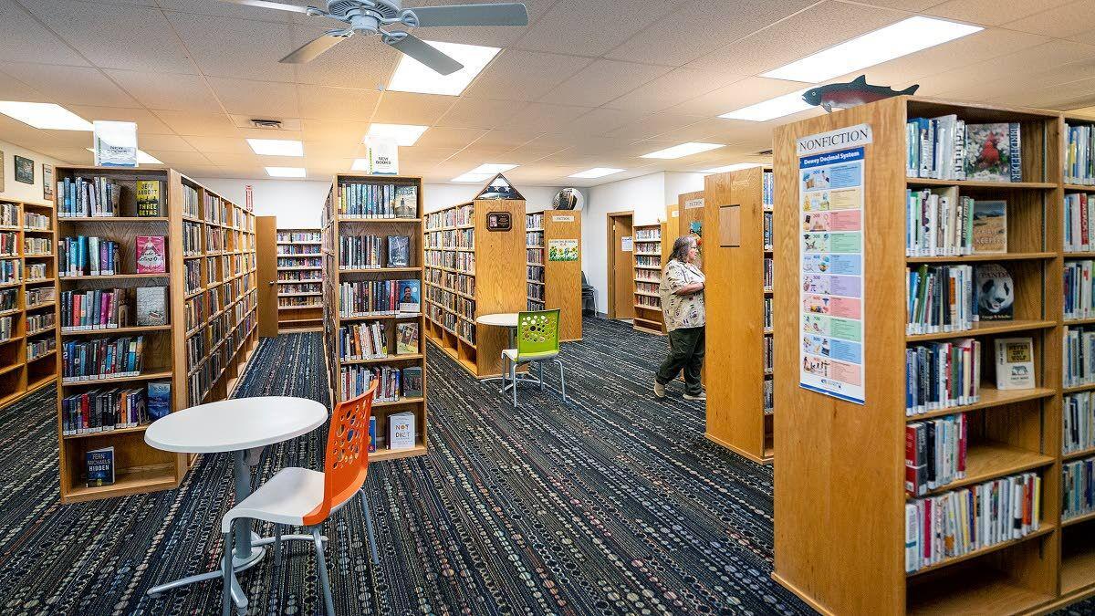 Library doors open again