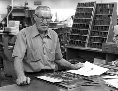 Blast from the Past / 1973: Longtime printer retires