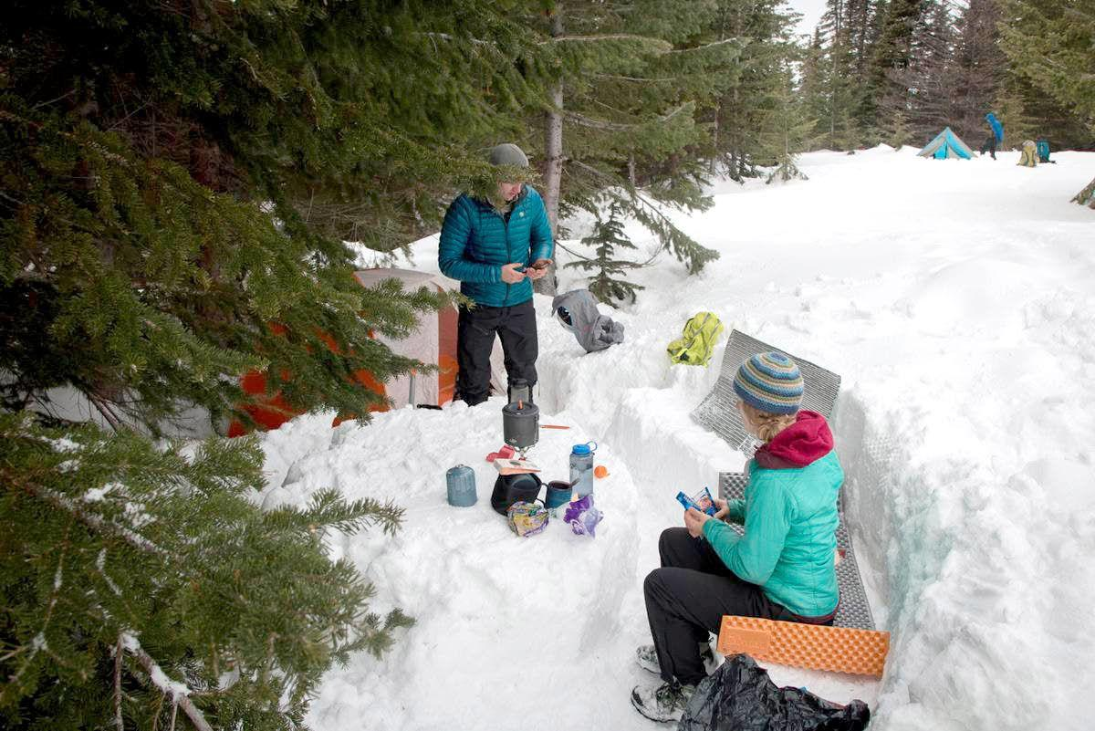 Snow camping — it's more fun than it sounds