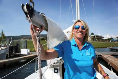 Captain takes helm of sailing school