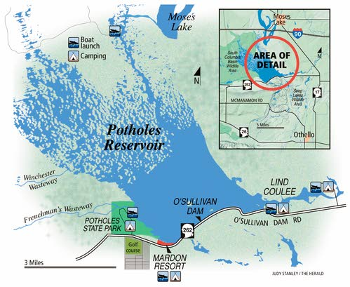 Scablands Washington Map.Scablands Reborn Outdoors Lmtribune Com