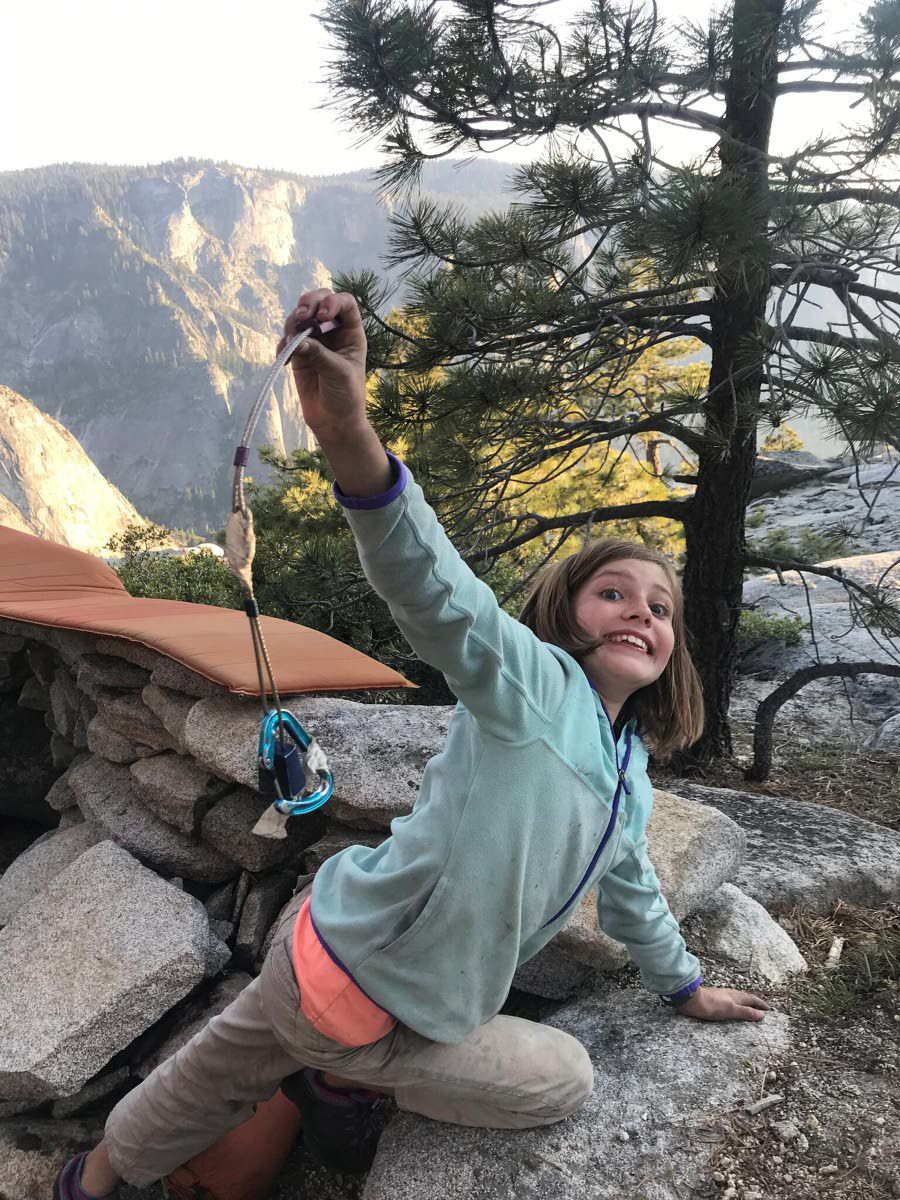 Colorado girl 'overwhelmed' after Yosemite climb