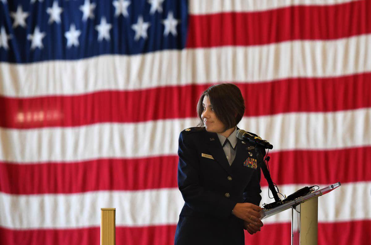 New Fairchild commander proves naysayers wrong