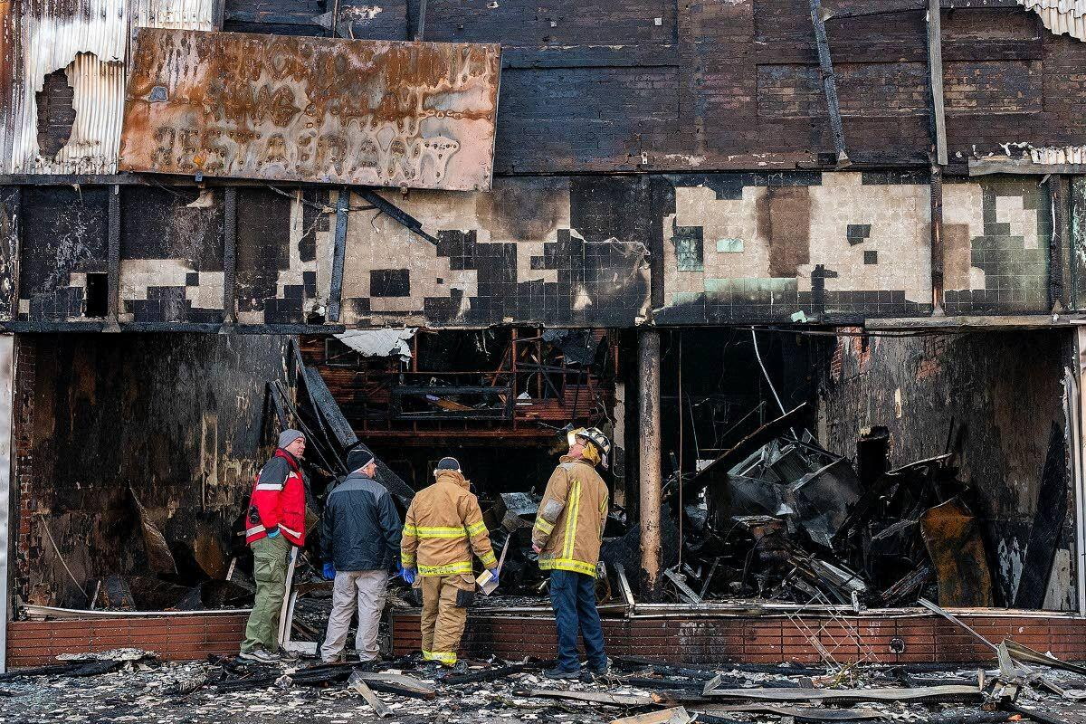 Cause of restaurant fire 'undetermined'