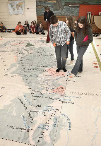 Geography Twister
