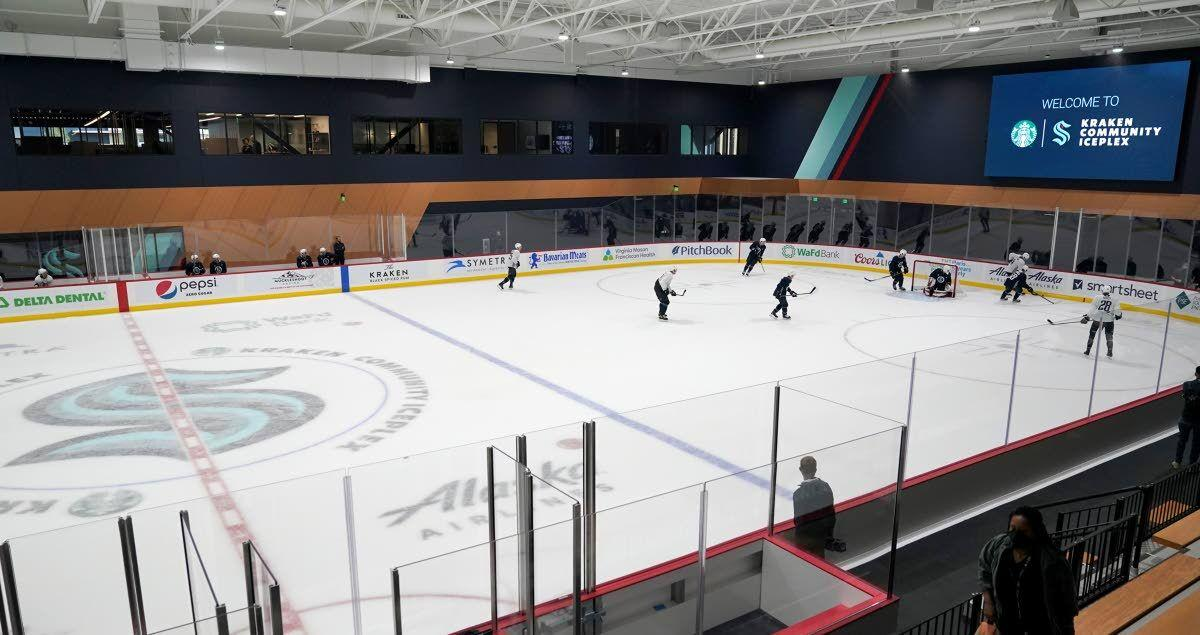 Another step toward Kraken debut as practice facility opens
