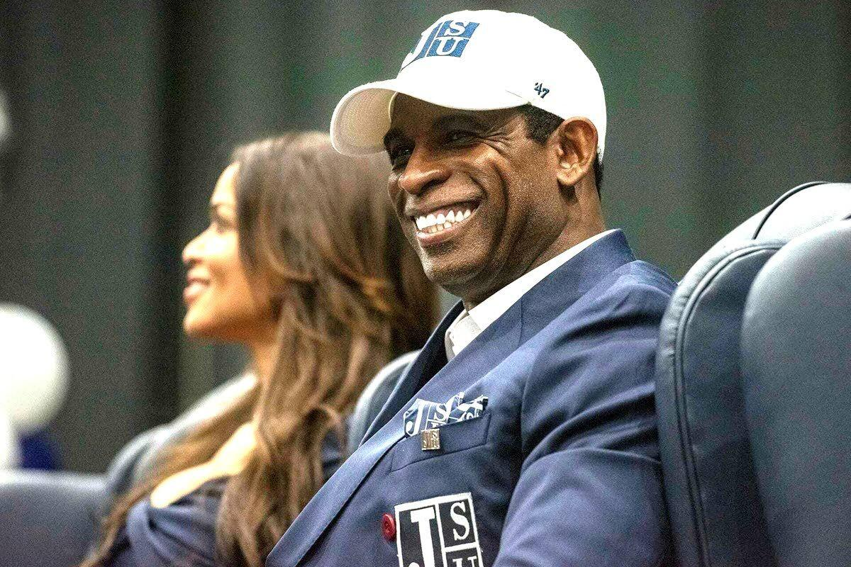 Write it in neon: Sanders to coach Jackson State