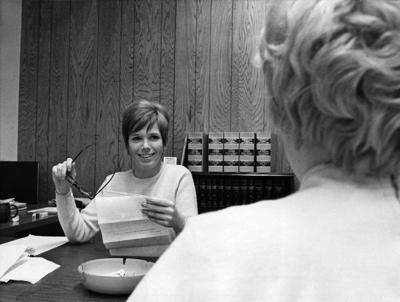 Blast from the Past / 1971: Ready to help with legal services