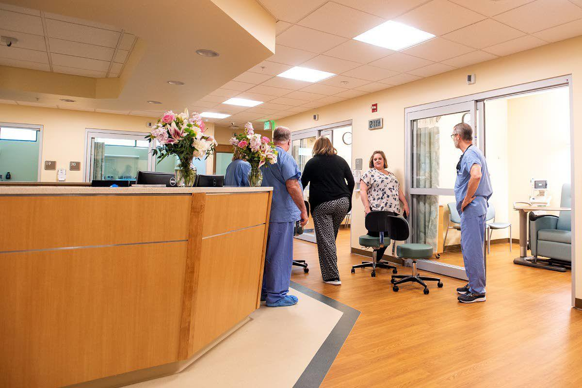 New Pullman hospital unit debuts