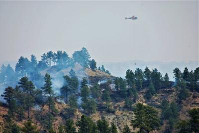 5 firefighters injured while fighting Montana wildfire