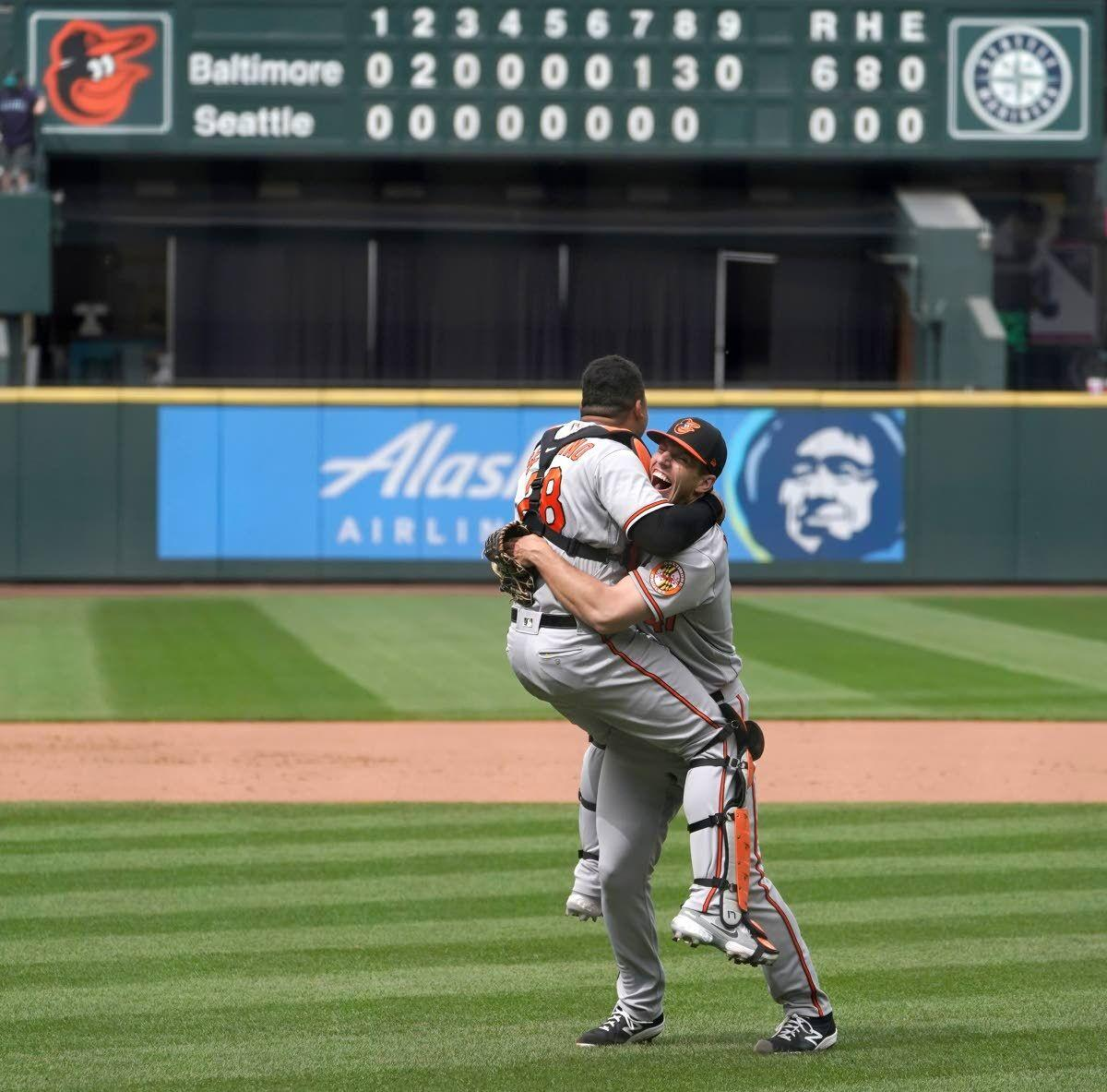 Orioles' Means throws no-hitter against M's