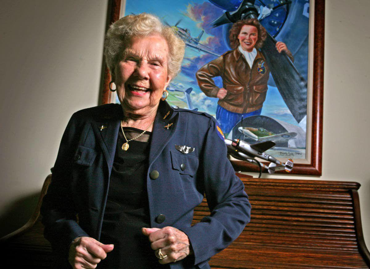 Dorothy Olsen, pilot in the WASPs, dies at 103