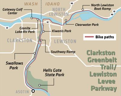 Clarkston Greenbelt Trail/Lewiston Levee Parkway
