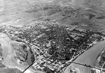 Blast from the Past / 1948: A bird's eye view of Lewiston