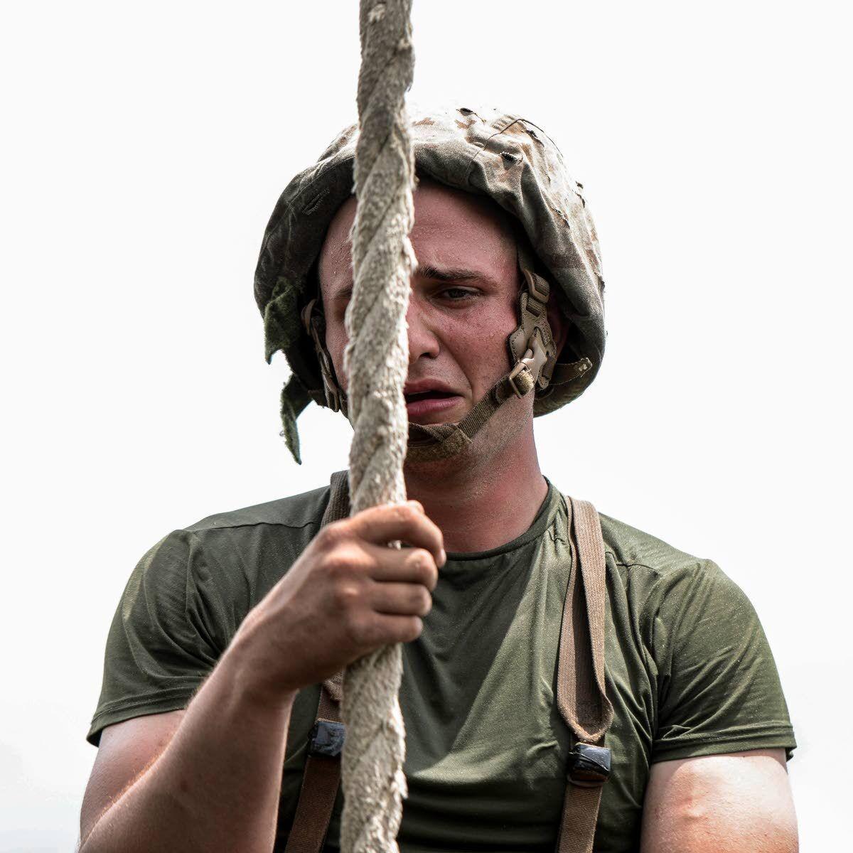 Camera-carrying Marine