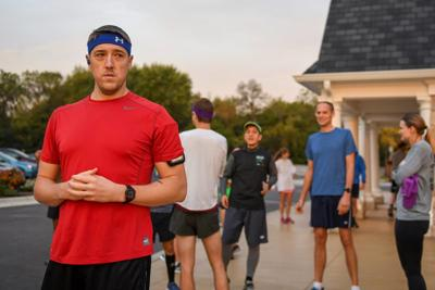He's running to honor sister's life