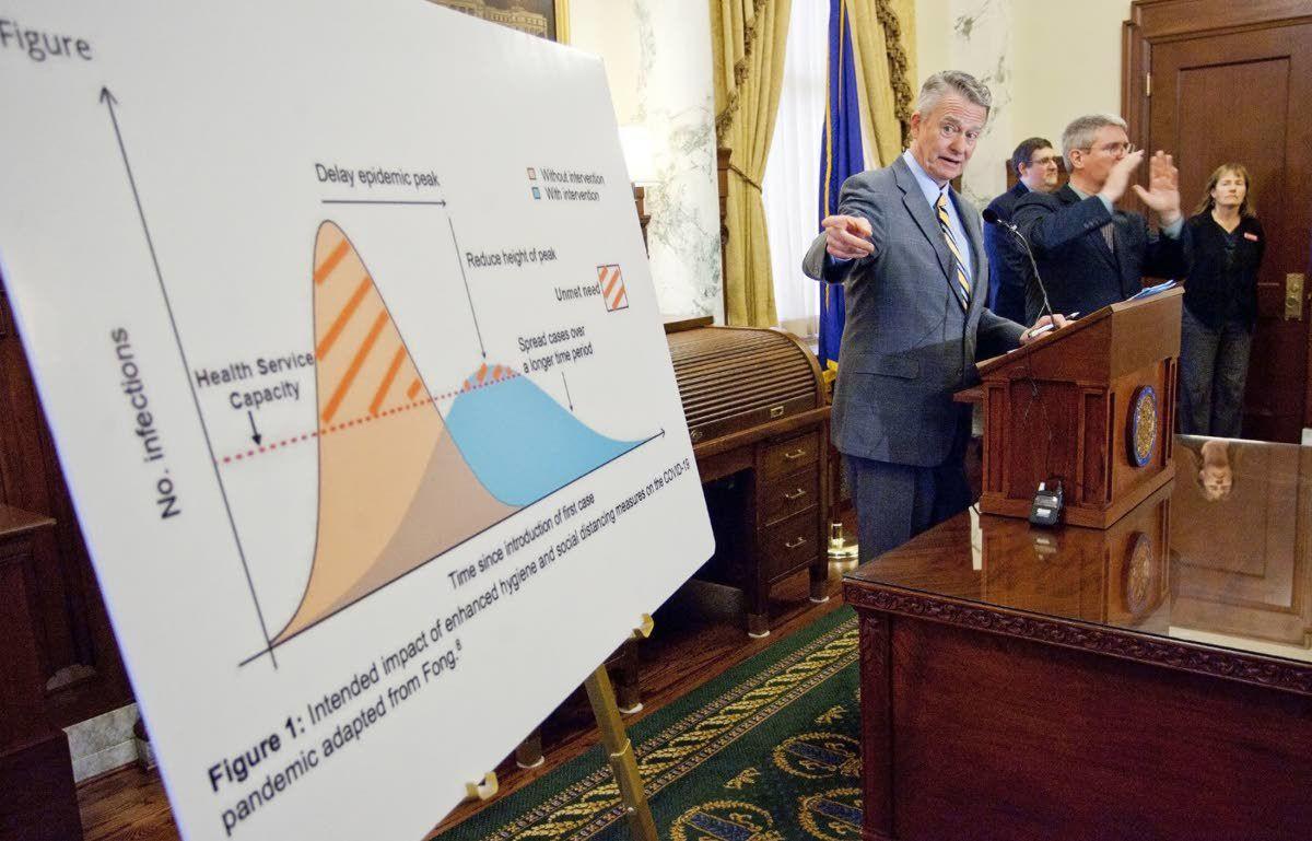 Idaho controls COVID-19 data