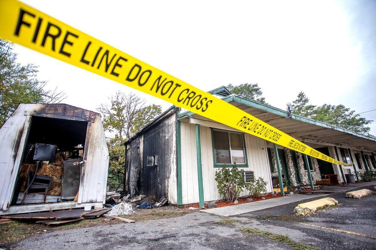 Fire scorches Clarkston motel