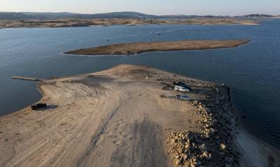 Historic drought, low water reveal Gold Rush artifacts at Folsom Lake