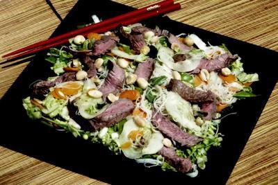 Dressing highlights flavors of salad