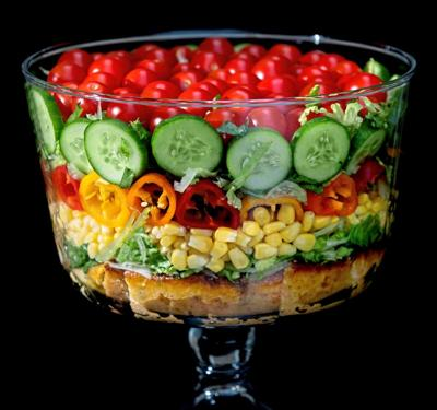 How to build a picture-perfect summer trifle salad