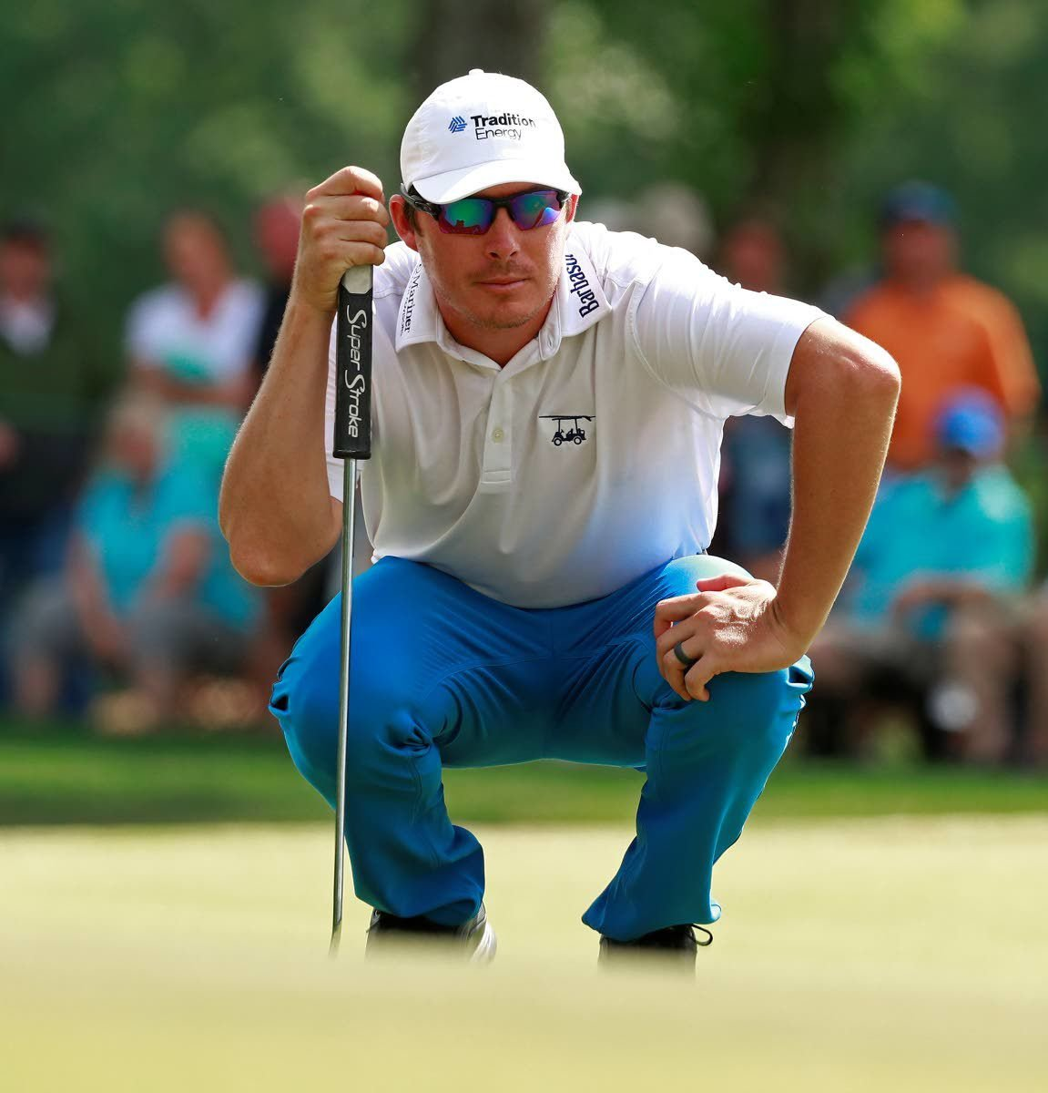 Merritt ties course record for lead at Northern Trust