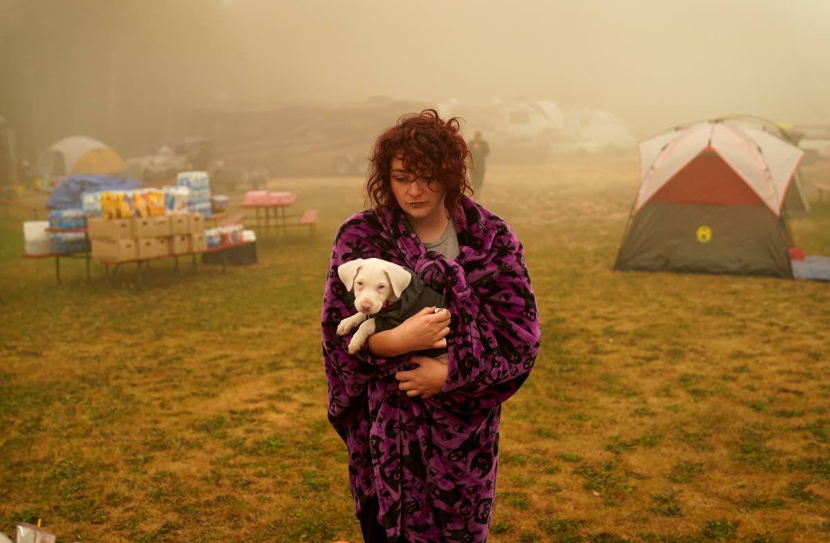 Wildfires fueling climate change debate