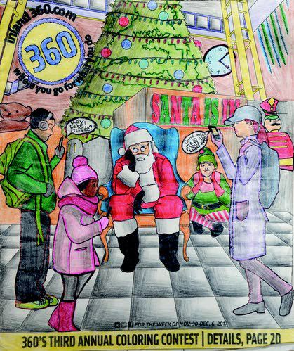Competition Was Stiff In The 2017 Coloring Contest Arts