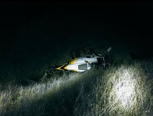 Helicopter crash kills one