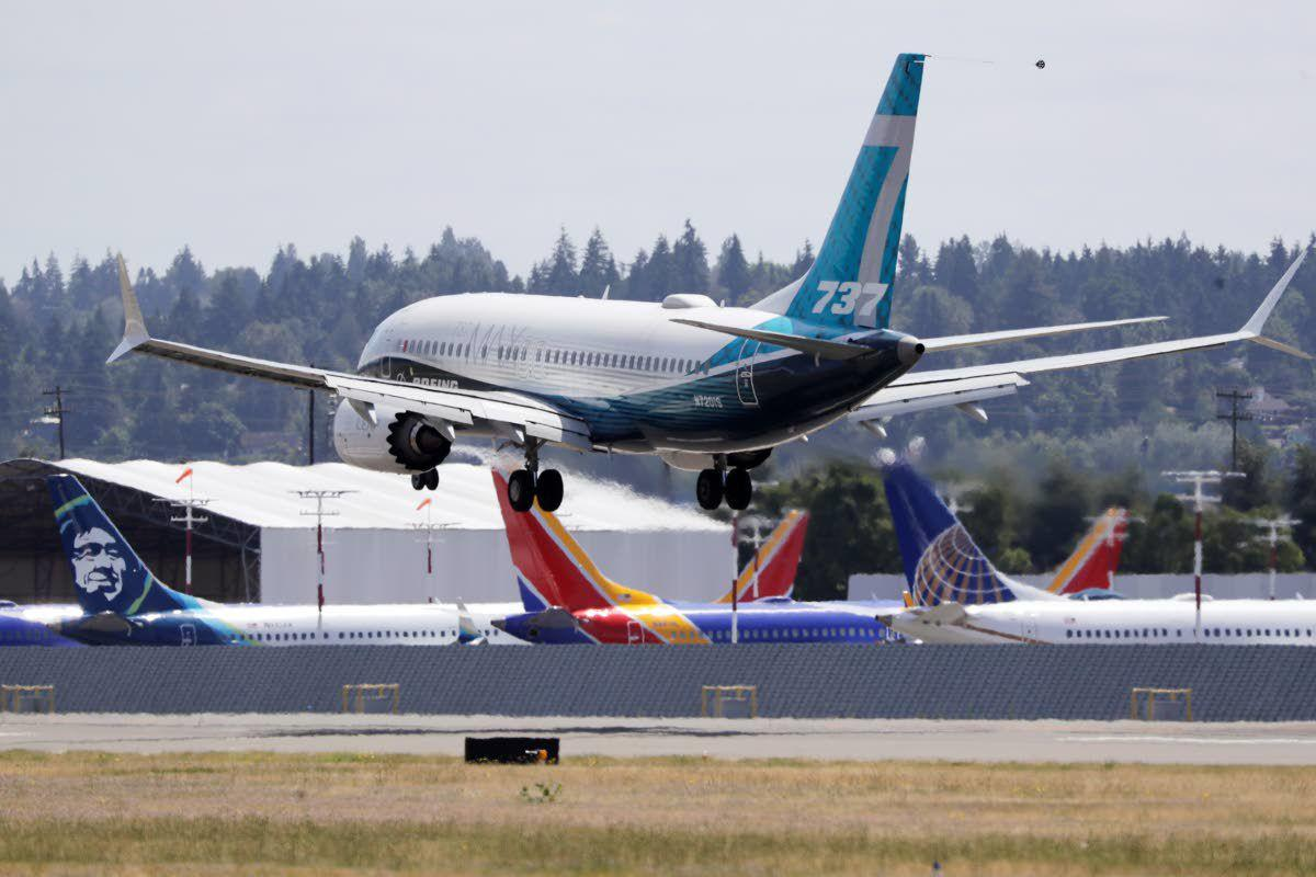 Re-certification flights begin for Boeing