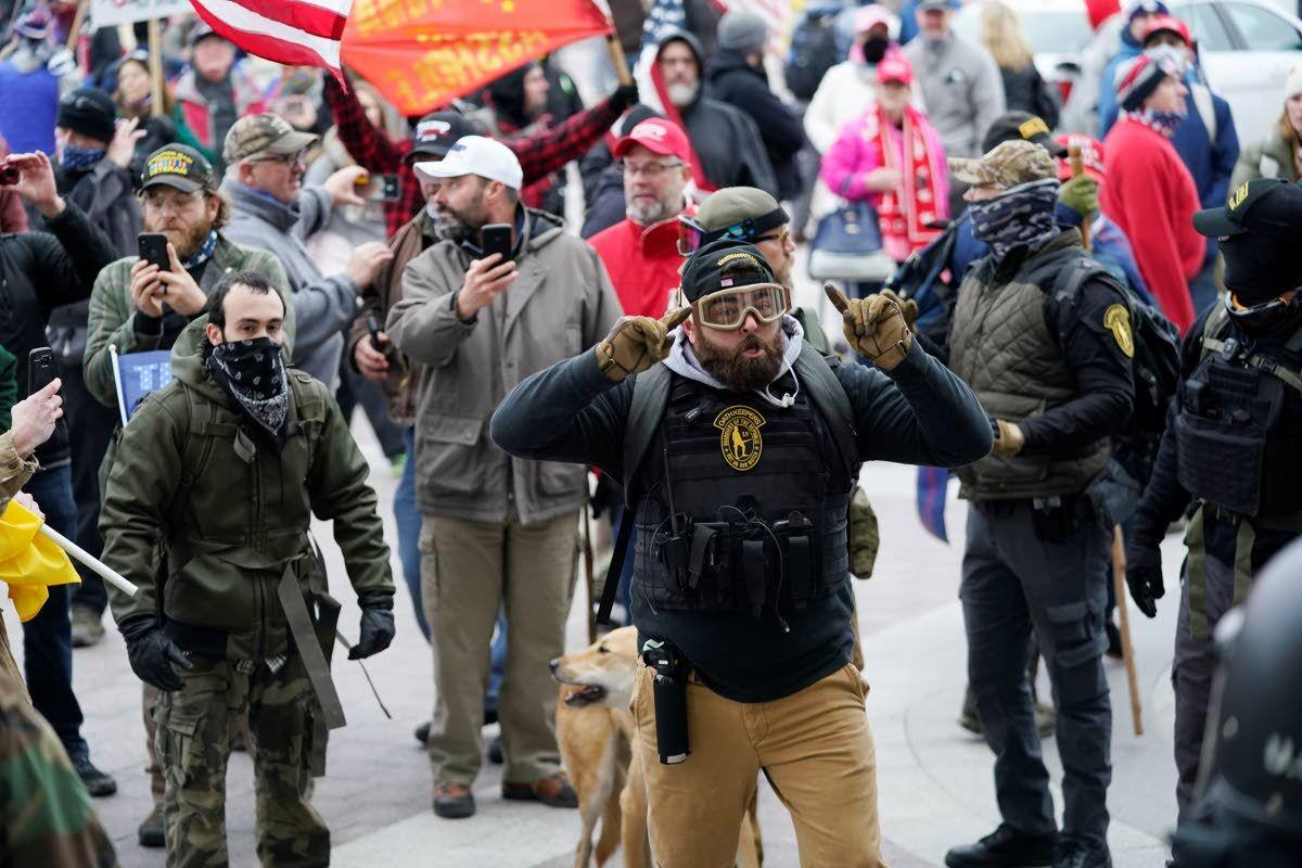 Experts: Mix of extremists who stormed Capitol won't retreat