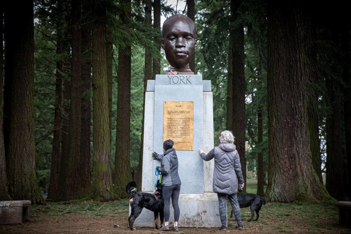 New statue honors Black explorer