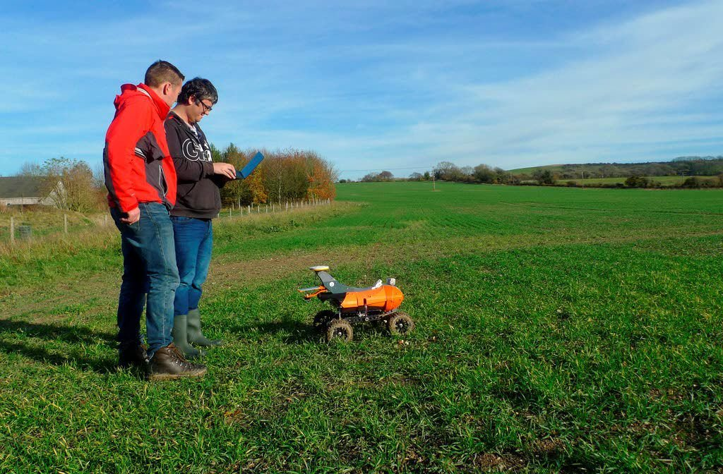 High-tech takeover: robots in the fields