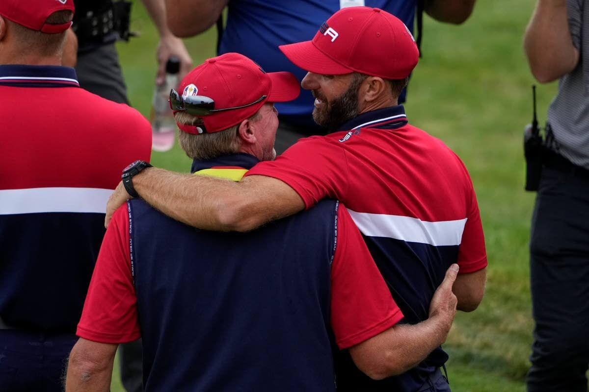 Commentary: Stricker shows U.S. Ryder Cup players how to win as a team