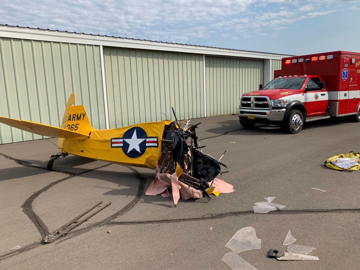 Plane crash horrifies crowd at Oregon fly-in   Northwest