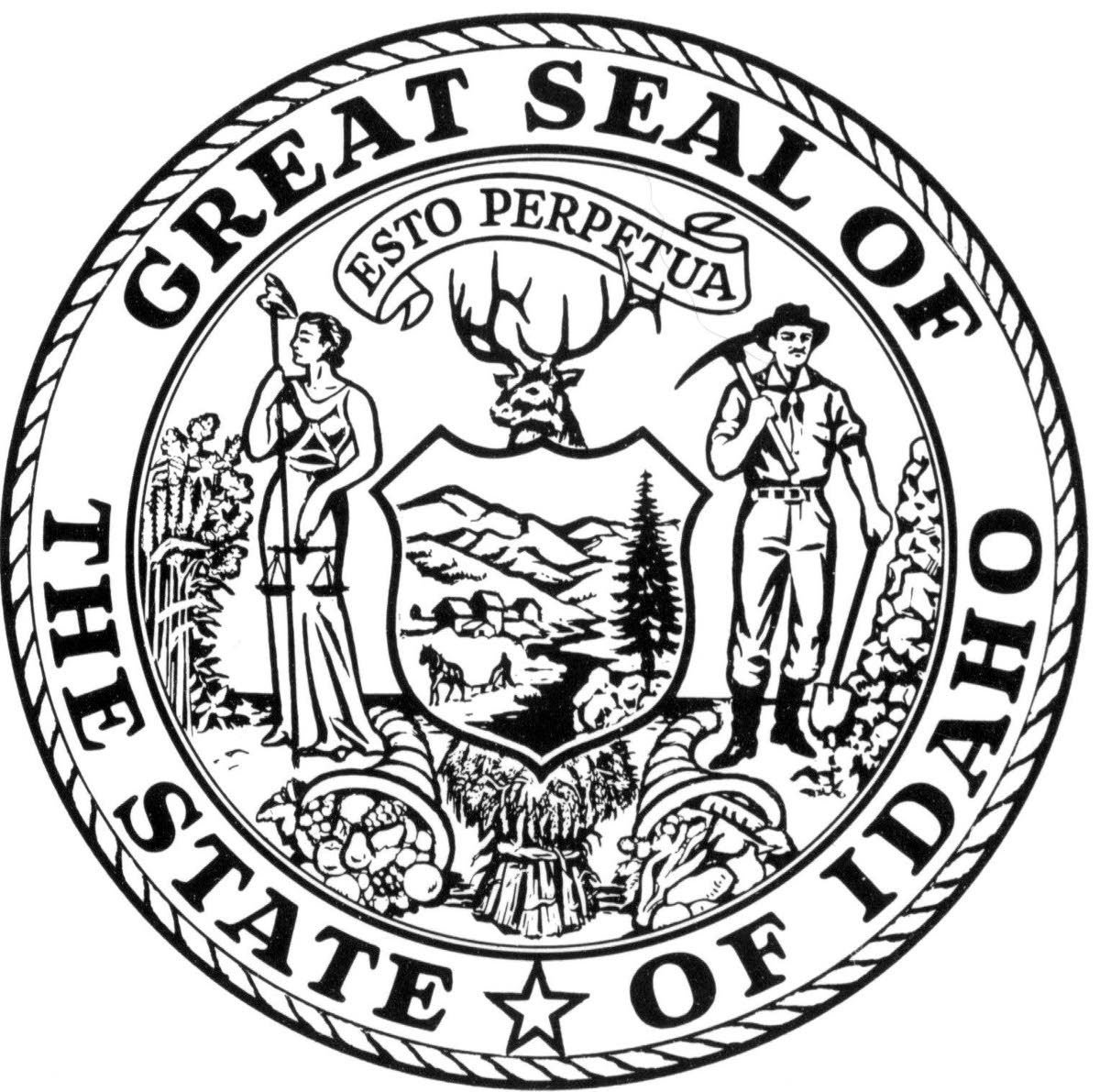 Woman Who Designed Idaho Seal Retains Interest In Public