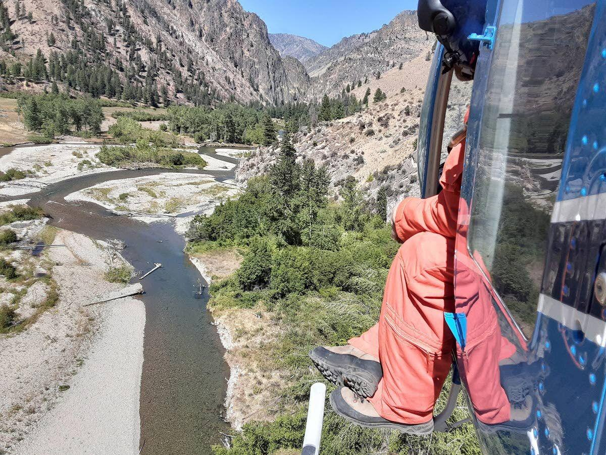 Helicopter parenting Idaho's chinook