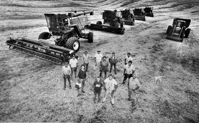 Blast from the Past / 1990: Hard-working harvest crew