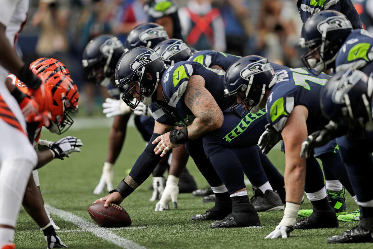 Seattle line challenging itself after 'tough' opener