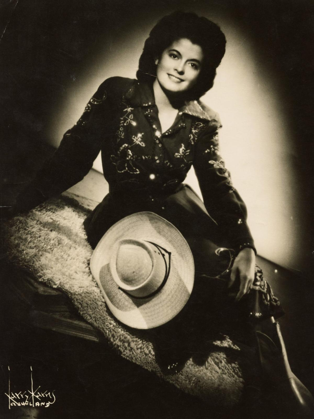 Country music singer Chickie Williams