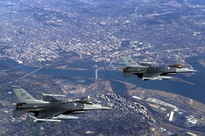 DCANG F-16s