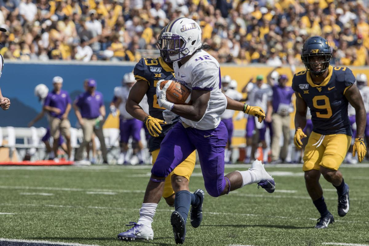 James Madison West Virginia Football